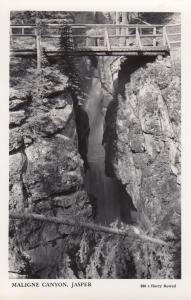 RP: JASPER, Alberta , Canada , 30-40s; Maligne Canyon