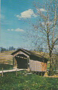 Ohio Noble County Manchester Covered Bridge #33