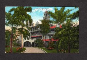 Greetings From Myrtle Bank Hotel KINGSTON JAMAICA West Indies Postcard