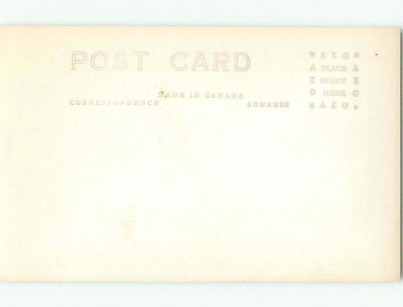 Pre-1949 rppc NICE VIEW Horseshoe Bay - West Vancouver British Columbia BC W1038