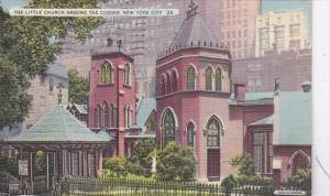 New York City The Little Church Around The Corner 1939