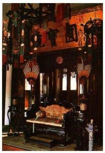 The Interior Principal Room of Chu Xiu Gong Palace of Gathering China Postcard