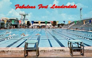 Florida Fort Lauderdale International Hall Of Fame Swimming Pool