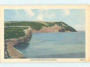 1930's NATURE SCENE Blomidon - Near Wolfville & Kentville Nova Scotia NS AD3553