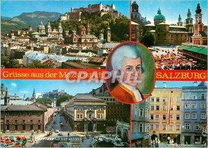 Postcard Old Salzburg the City of Mozart