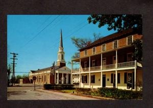 SC Bishop Davis House First Baptist Church Camden South Carolina Postcard PC