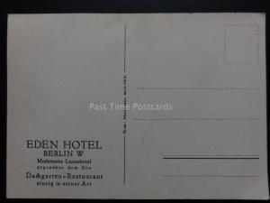 Germany: West Berlin THE EDEN HOTEL - Dachgarten - Restaurant c1930's