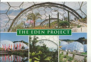 Cornwall Postcard - The Eden Project - Near St Austell - Ref 18020A
