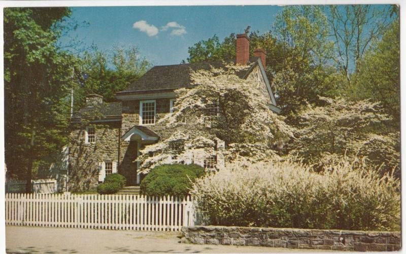 Washington Headquarters, Valley Forge, PA, unused Postcard