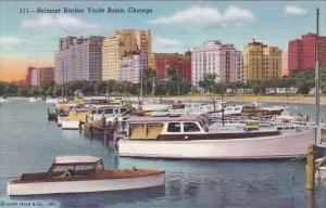 Illinois Chicago Belmont Harbor Yacht Basin
