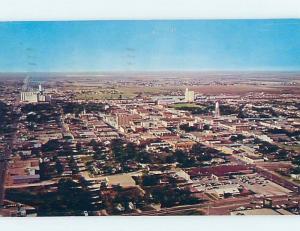 Pre-1980 AERIAL VIEW Plainview TX ho4774