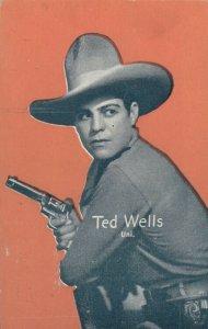 Cowboy Actor TED WELLS, 30s-40s