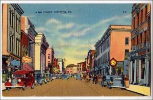 Main St. Pittston PA