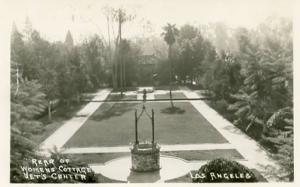 CA - Los Angeles. Rear of Womens Cottage, Vet's Center    *RPPC
