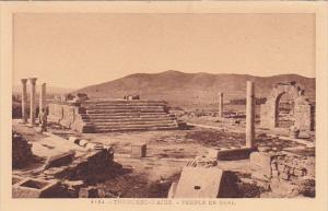 Tunisisa Tuburbo Le Temple de Baal