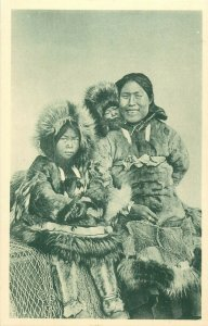 Arctic Ocean Life family social history Alaska Christian eskimo mother children