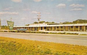 Chillicothe Illinois~Motteler's Thunderbird Motel~1965 PC