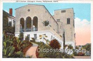Julian Eltinge's Home Hollywood, CA, USA Unused