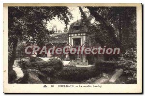 Old Postcard Houlgate Le Moulin Landry