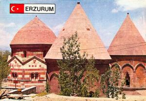 Turkey Erzurum Uclukumbetler Church Postcard