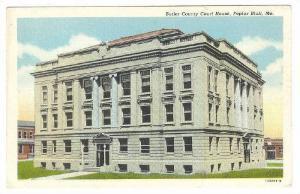 Exterior, Butler County Court House,Poplar Bluff,Missouri,40-60s