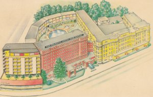 HOT SPRINGS , Arkansas , 1965 ; The Majestic Hotel & Baths
