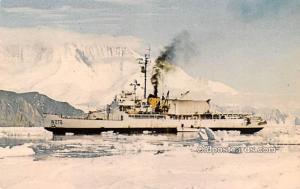 Military Battleship Postcard, Old Vintage Antique Military Ship Post Card USC...