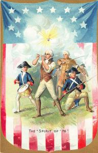 Raphael Tuck Fourth of July The Spirit of '76' Postcard