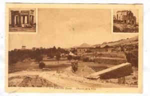 BAALBEK (Syrie), now Lebanon, 1910-30s ;  L'entree de la Ville