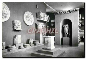 Postcard Modern Tarragona Museo Arqueologico room DEDICATED to Roman Monument...