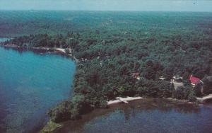 Aerial View of Sparrow Lake Holiday Camp, TORONTO, Ontario, Canada, 40-60s