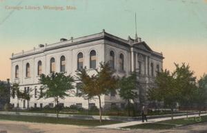 WINNIPEG , Manitoba , Canada , 00-10s ; Carnegie Library