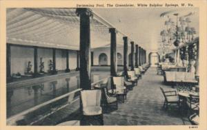 West Virginia Swimming Pool The Greenbrier Curteich