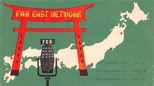 Tokyo Japan Postcard Far East Network Tokyo