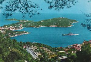 France Villefrance-Sur-Mer Vue sur la baie et le Cap Ferrat