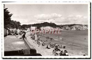 Modern Postcard Morgat Beach