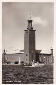 RP, Ferry, Stadshuset, Stockholm, Sweden, 1920-1940s