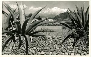 Mexico - El Ixtaccihuatl.   *RPPC