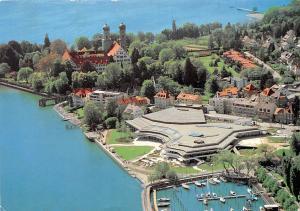 Friedrichshafen Kultur und Tagungszentrum Graf Zeppelin Haus Harbour Boats