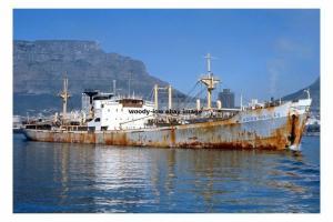 mc4243 - Greek Cargo Ship - Agios Nikolas , built 1955 ex Espen - photograph 6x4