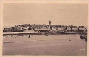 France Saint Malo Vue generale prise de St Servan