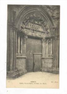 Semur, France, 00-10s Eglise Notre-Dame, Portail des Bleds