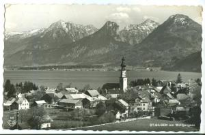 Austria, ST. GILGEN am Wolfgangsee, 1961 used real photo Postcard