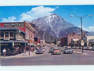 Pre-1980 SHOPS ALONG BANFF AVENUE Banff Alberta AB F1067