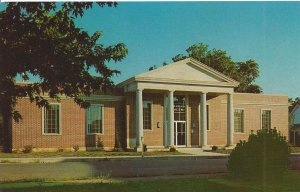 Saunders Museum Berryville Arkansas Vintage Postcard