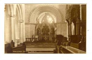 RP; Llandaff, High Altar, Church interior, 1910s WALES