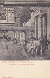 Italy Padova Chiesa Eremitani Cappella Mantegna