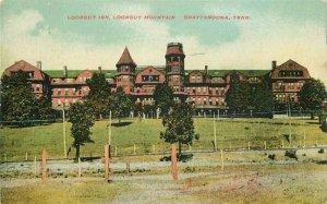 Chattanooga Tennessee 1909 Lookout Inn Mountain Postcard 11219