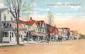 Broadway Monticello NY 1916
