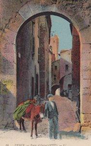 VENCE , France , 00-10s ; Porte d'Orient ; Donkey